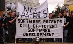 Batalla sobre les patents de programari a la Unió Europea